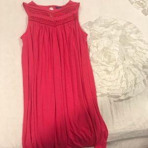 Like new pink shift dress